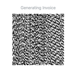 A Lightning invoice