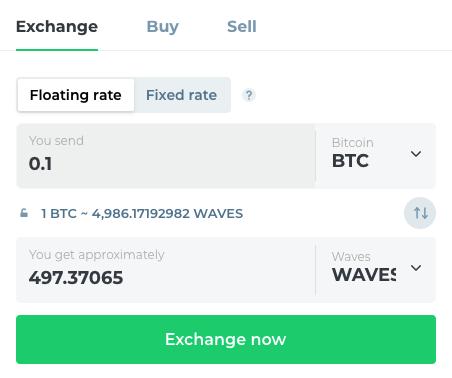 Buy WAVES