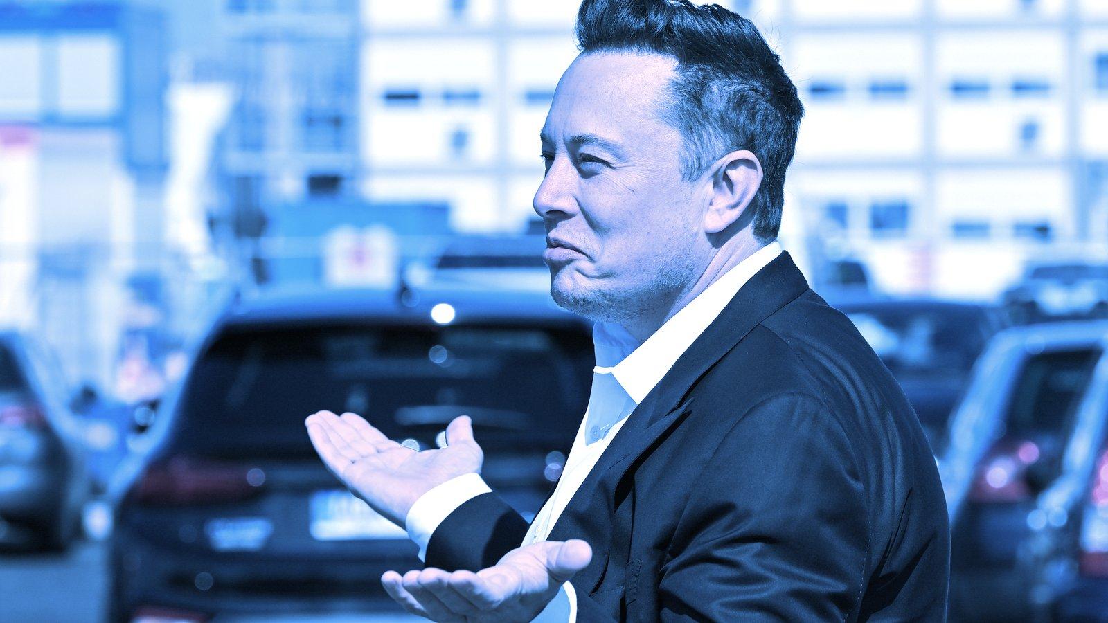 Elon Musk Tweets That Tesla Has Diamond Hands, Cushioning Bitcoin Slide