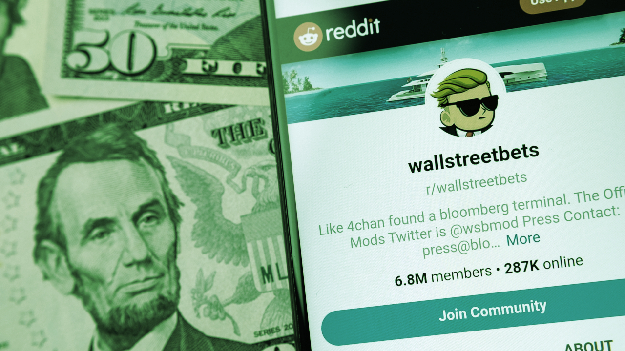WallStreetBets Founder Wants to Make Stocks More Like Crypto