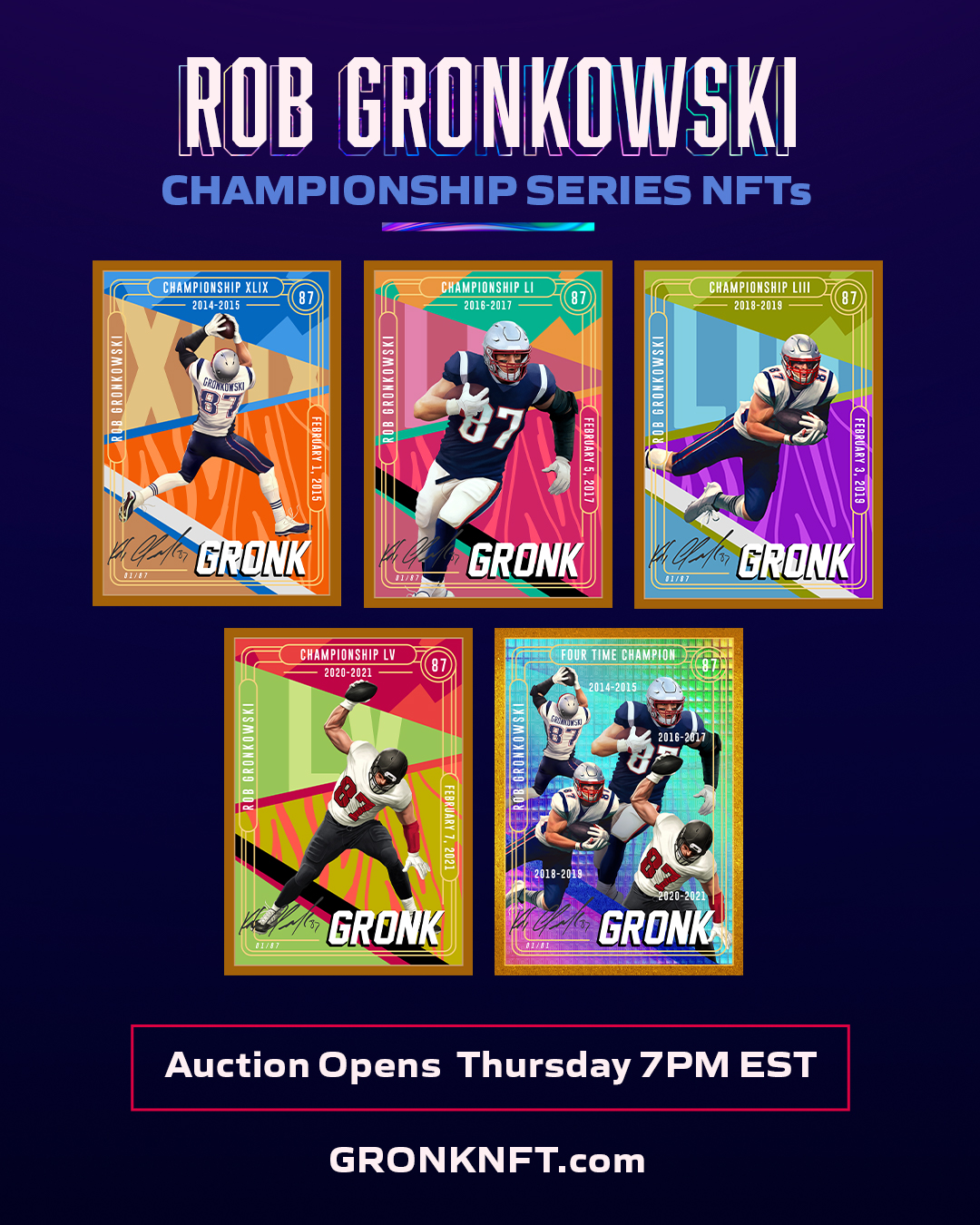Rob Gronkowski's NFT collection.