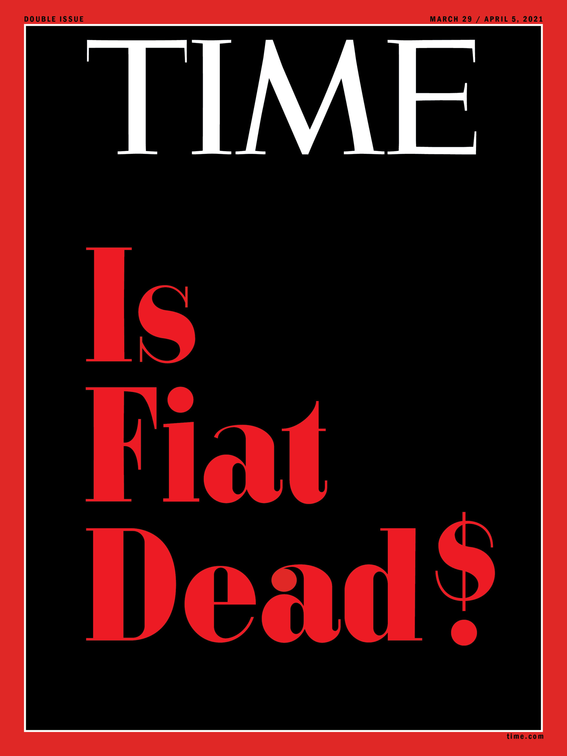 Time's upcoming magazine cover