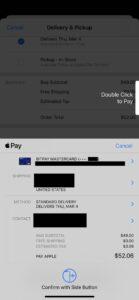 BitPay Apple Pay screenshot