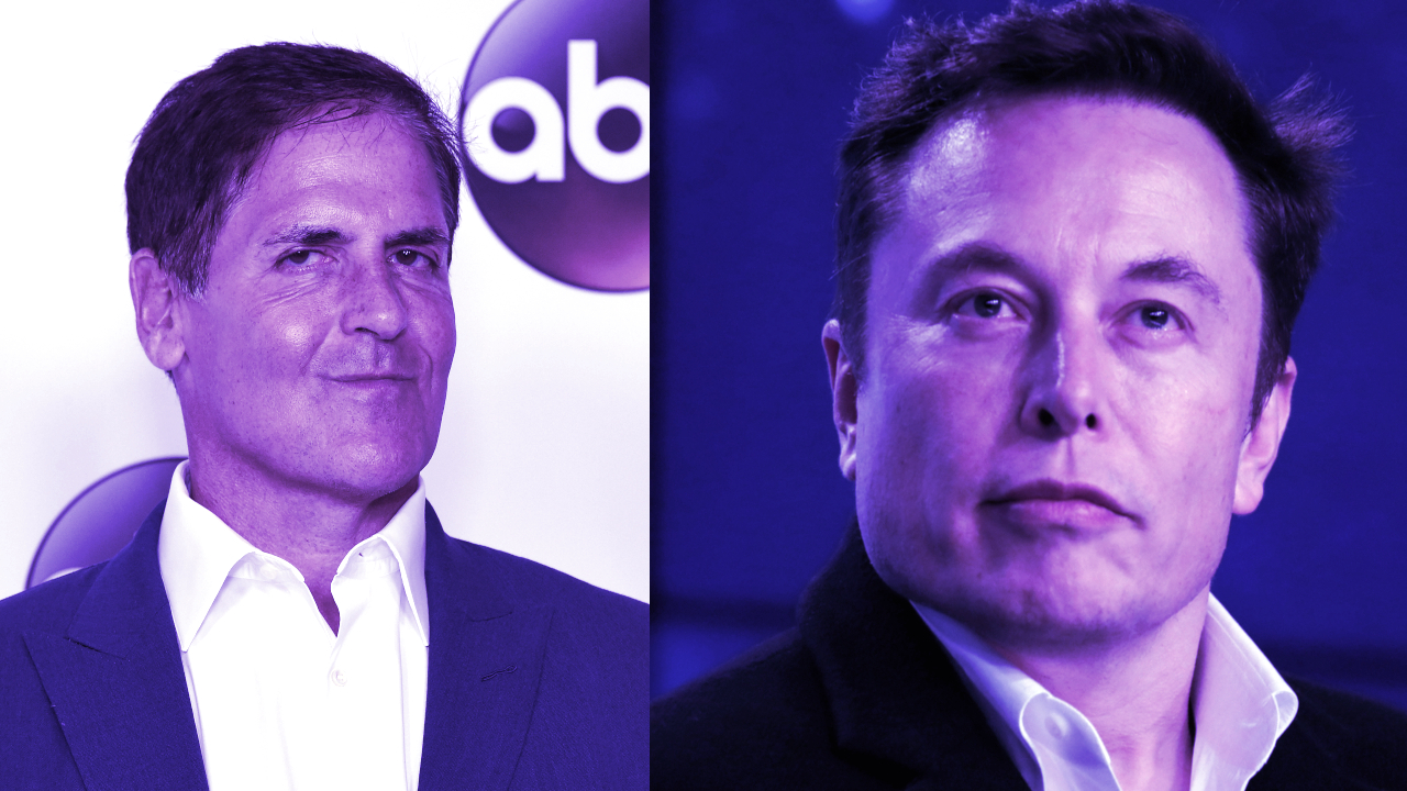 Dogecoin Jumps 12% As Mark Cuban, Elon Musk Call It 'The Strongest Cryptocurrency'