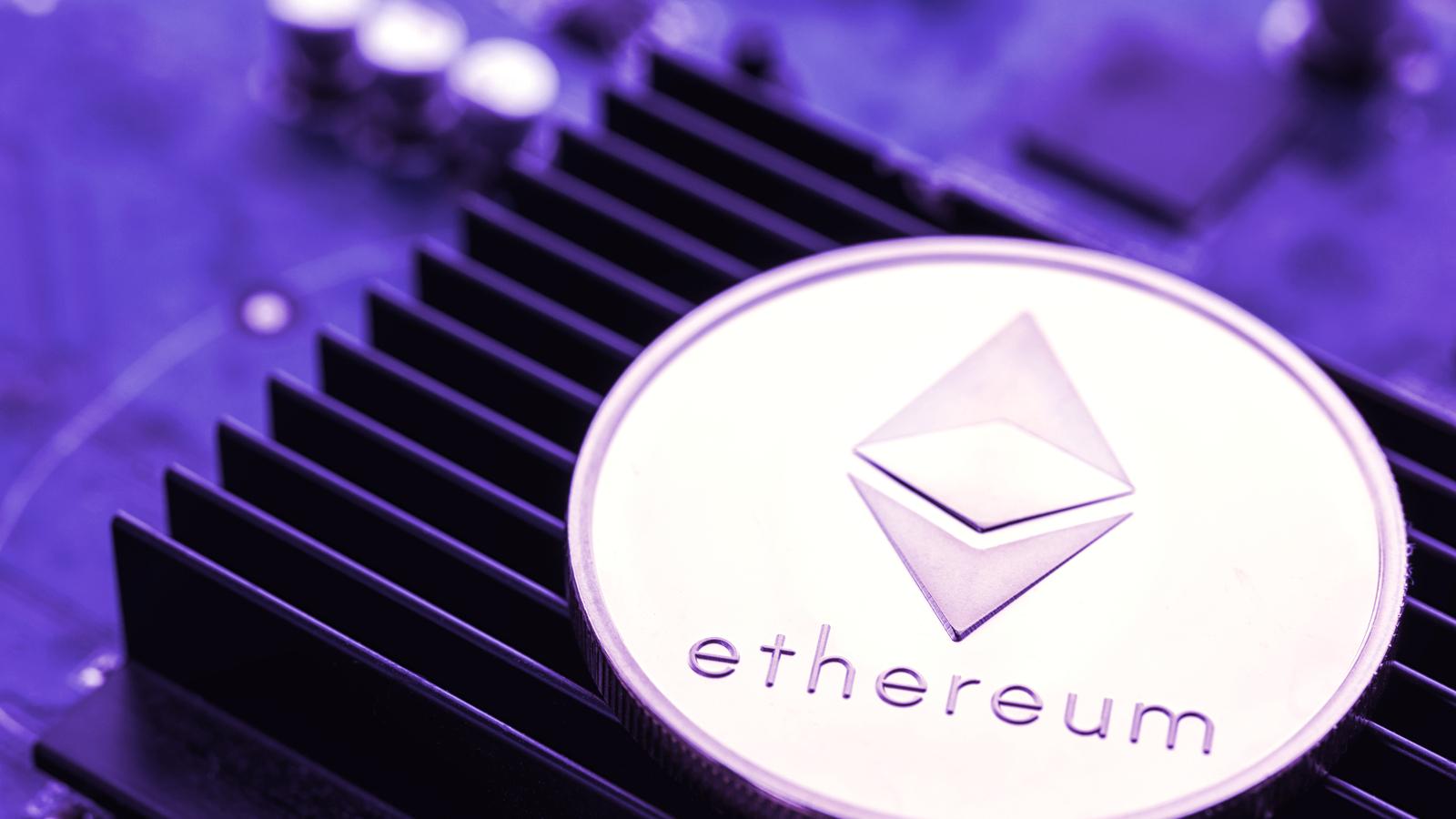 Ethereum Sinks 8% in Saturday Afternoon Dip