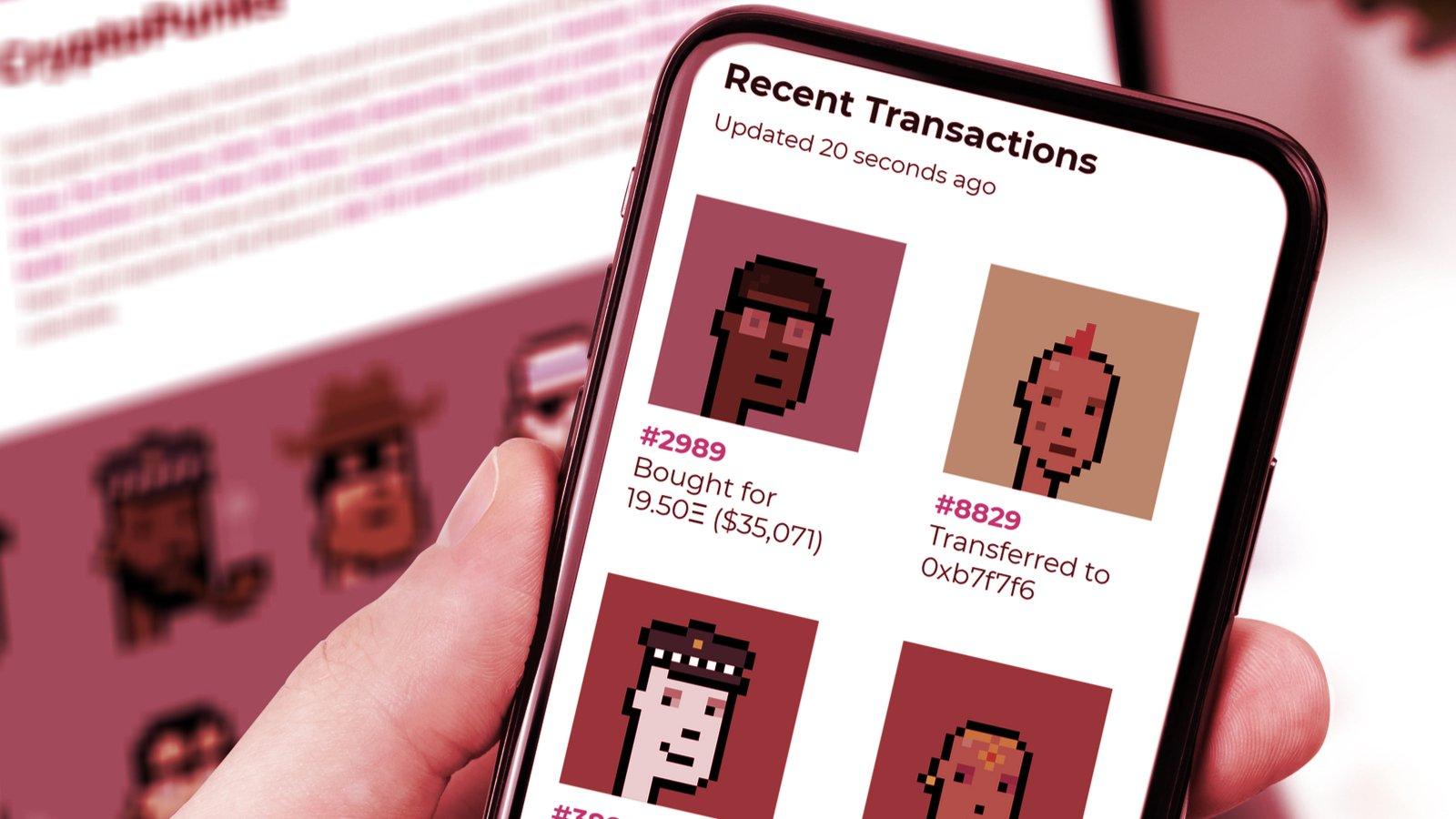 Ethereum NFT CryptoPunks Hit $1 Billion in Total Sales