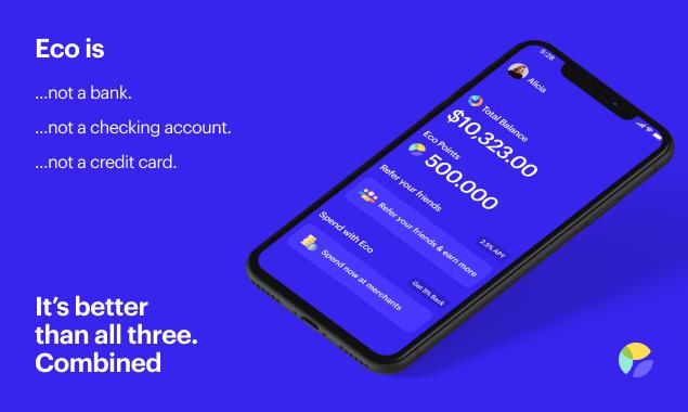 Eco fintech app ad