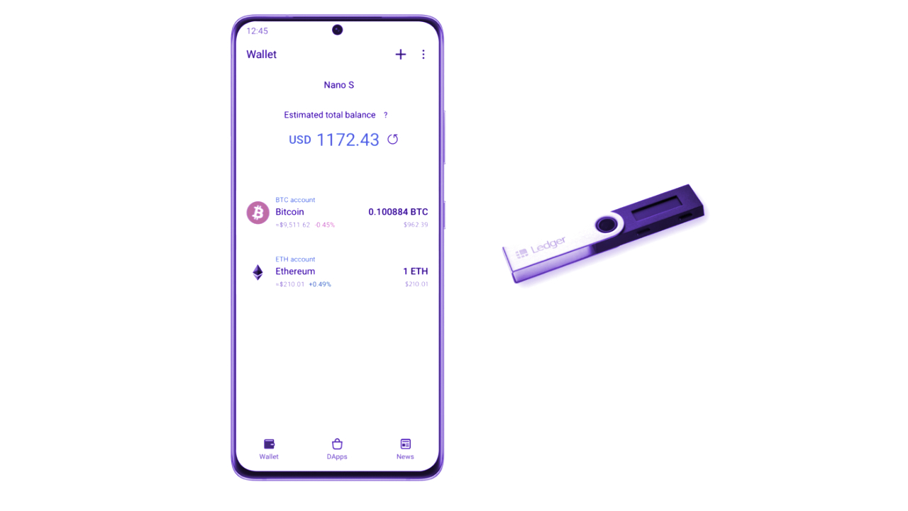 Samsung Adds Support for Crypto Hardware Wallets to Galaxy Smartphones