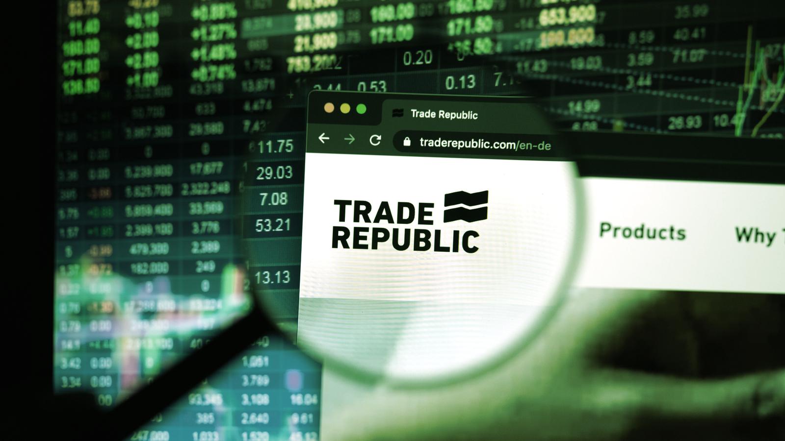 Crypto-Friendly Investing App Trade Republic Raises $900 Million