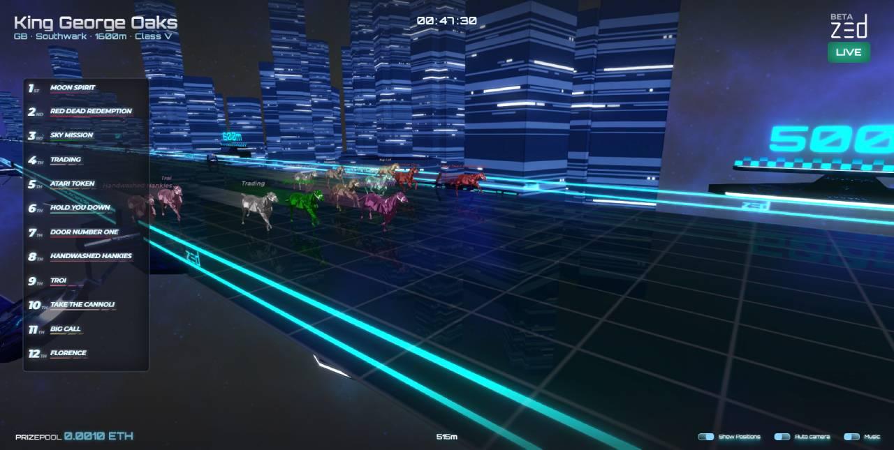 Zed Run screenshot