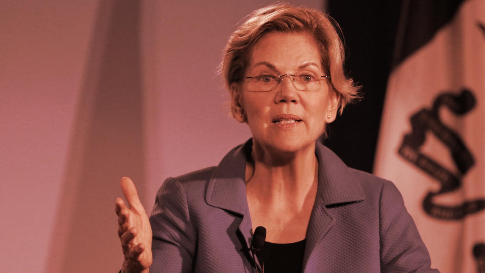 Sen. Elizabeth Warren: Crypto Puts Financial System in the Hands of 'Shadowy Super-Coders'