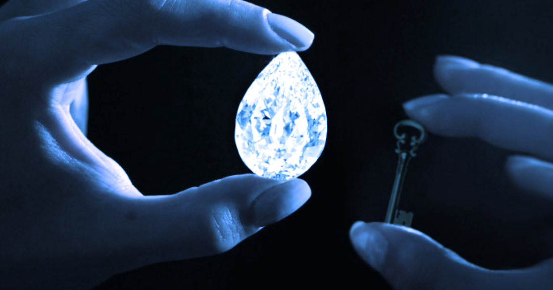 Sotheby's Auctions Rare Diamond for $12 Million in Crypto