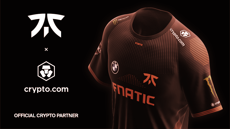 Crypto.com's Sports Sponsorship Spree Continues With Esports Team Fnatic