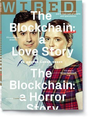 Arthur and Kathleen Breitman on the June 2018 cover of Wired