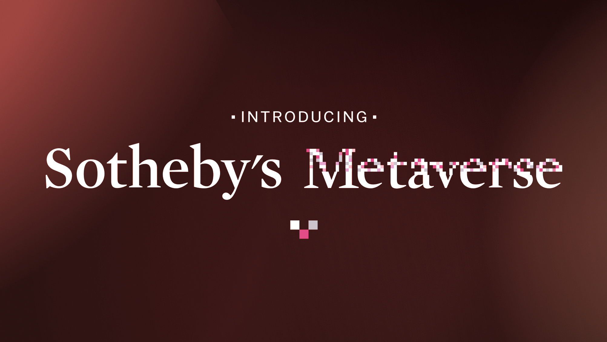 Sotheby's Dives Deeper Into NFTs With Ethereum 'Metaverse' Marketplace